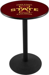 Iowa State University Round Base Pub Table
