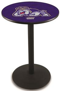 James Madison University Round Base Pub Table