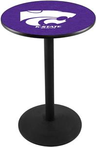 Kansas State University Round Base Pub Table