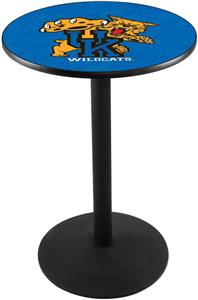 University of Kentucky Cat Round Base Pub Table
