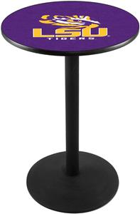Louisiana State University Round Base Pub Table