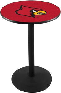 University of Louisville Round Base Pub Table