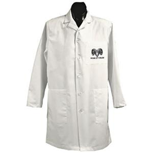 Fresno City College White Long Labcoats
