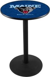 Holland University of Maine Round Base Pub Table