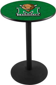 Marshall University Round Base Pub Table