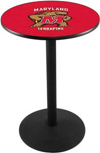University of Maryland Round Base Pub Table