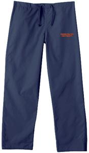 Fresno Pacific University Navy Classic Scrub Pants