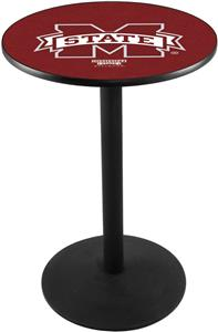 Holland Mississippi State Uni Round Base Pub Table
