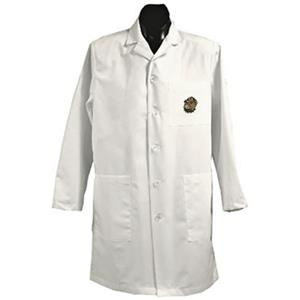 Georgetown Univ Hoya White Long Labcoats