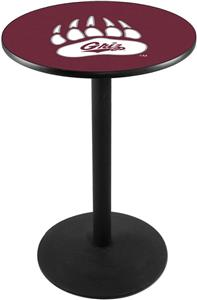 University of Montana Round Base Pub Table