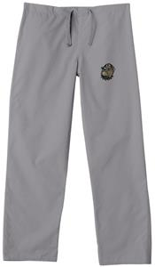 Georgetown Univ Hoya Gray Classic Scrub Pants