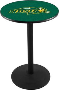 North Dakota State Univ Round Base Pub Table