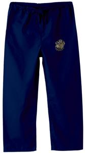 Georgetown Univ Hoya Kid's Navy Scrub Pants