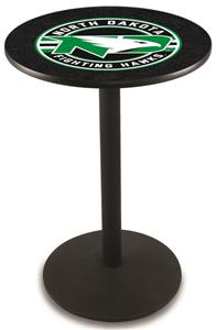 University of North Dakota Round Base Pub Table