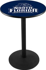 University of North Florida Round Base Pub Table