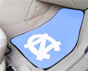Fan Mats UNC Chapel Hill Carpet Car Mats (set)