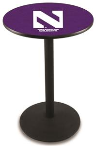Northwestern University Round Base Pub Table