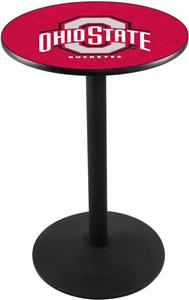 Holland Ohio State University Round Base Pub Table