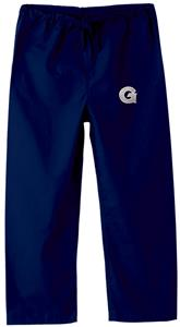 Georgetown University Kid's Navy Scrub Pants