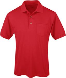 TRI MOUNTAIN Element Polyester Golf Shirt w/Pocket