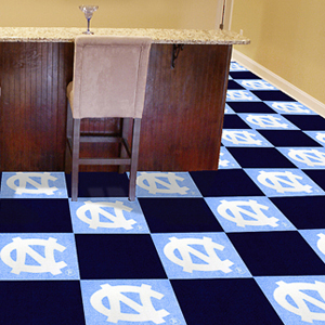 Fan Mats UNC Chapel Hill Carpet Tiles