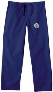 Georgetown University Navy Classic Scrub Pants