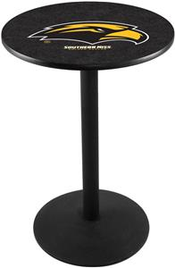Univ of Southern Mississippi Round Base Pub Table