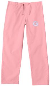 Georgetown University Pink Classic Scrub Pants