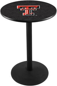 Holland Texas Tech University Round Base Pub Table