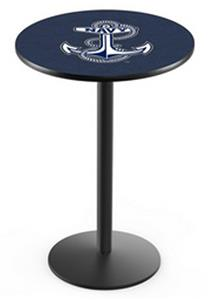 US Naval Academy Round Base Pub Table