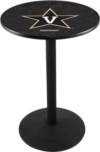 Vanderbilt University Round Base Pub Table