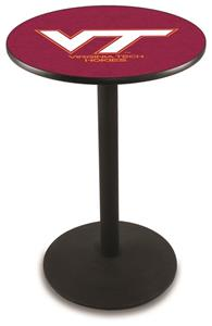 Virginia Tech University Round Base Pub Table