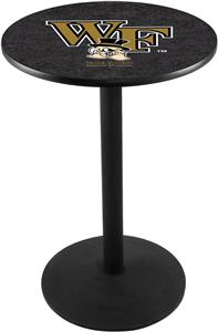 Wake Forest University Round Base Pub Table