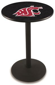 Washington State University Round Base Pub Table