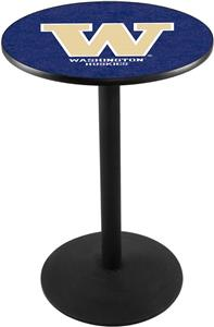 Holland Univ of Washington Round Base Pub Table