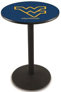 West Virginia University Round Base Pub Table