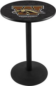 Western Michigan University Round Base Pub Table