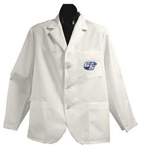 Georgia Southern Univ White Short Labcoats