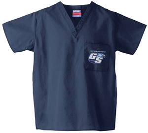 Georgia Southern Univ Navy Classic Scrub Tops