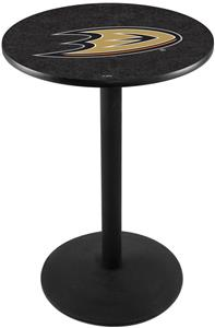Anaheim Ducks NHL Round Base Pub Table