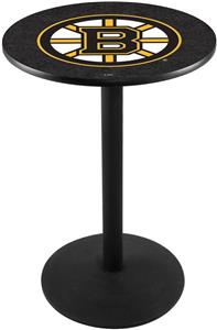 Holland Boston Bruins NHL Round Base Pub Table