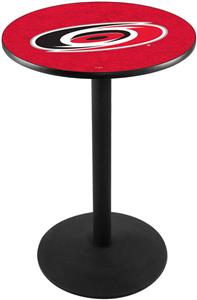 Carolina Hurricanes NHL Round Base Pub Table