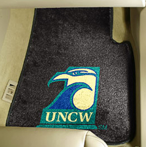 Fan Mats UNC Wilmington Carpet Car Mats