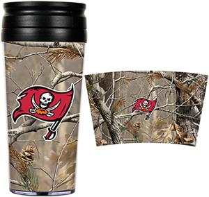 NFL Buccaneers 16oz Realtree Travel Tumbler
