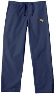 Georgia Tech Navy Classic Scrub Pants