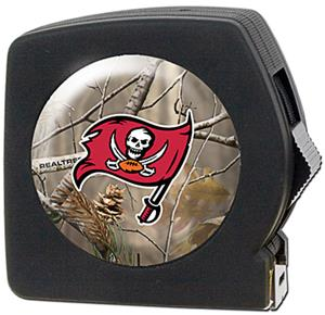 NFL Tampa Bay Buccaneers 25' RealTree Tape Measure