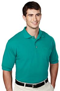 TRI MOUNTAIN Image Polyester Golf Shirt w/Pocket