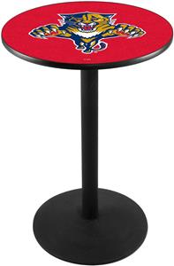 Holland Florida Panthers NHL Round Base Pub Table