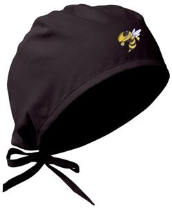 Georgia Tech Yellow Jackets Black Surgical Caps