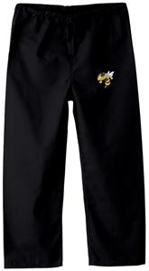Georgia Tech Yellow Jackets Kid's Black Scrub Pant